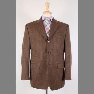 Ralph Lauren 40S Brown Sport Coat Y488